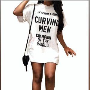 Curving mini Dress